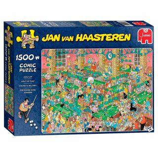 Jan van Haasteren Puzzle - Chalk on Time !, 1500st.