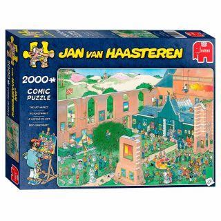 Jan van Haasteren Puzzle - The Art Market, 2000st.