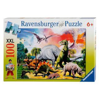 Dinosaur Puzzle XXL, 100pcs