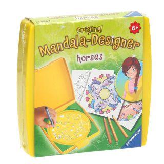 Mini Mandala-Designer-Horses