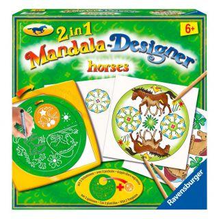 Mandala-Designer 2 in 1-Horses