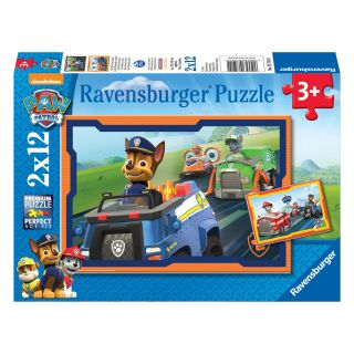Paw Patrol Puzzle - Paw Patrol in Action, 2x12st.