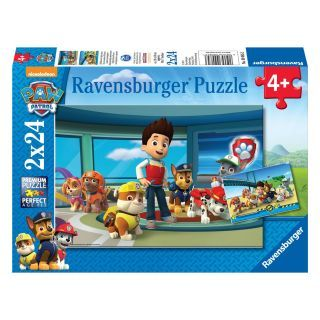 Paw Patrol Puzzle - Helpful Detective Noses, 2x24st.