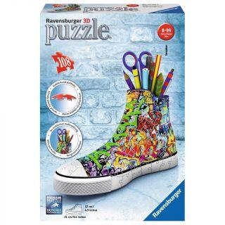 Ravensburger 3D Puzzle - Sneakers Graffiti