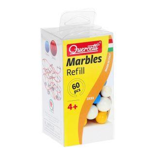 Quercetti Marble Court marbles, 60pcs.