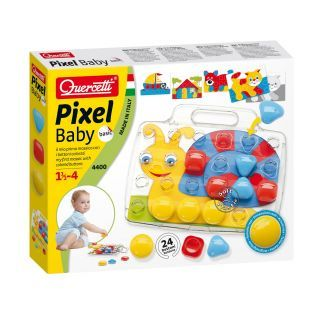 Quercetti Pixel Mosaic Inserts Baby Snail
