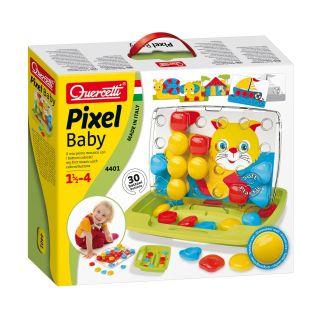 Quercetti Pixel Mosaic Inserts Baby Puss