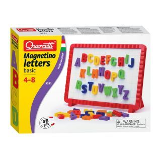 Quercetti Magnetic Board Basic Letters