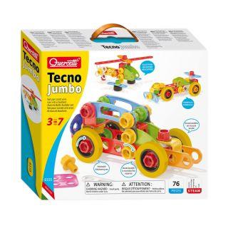 Quercetti Tecno Jumbo, 72 pcs