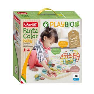 Quercetti PlayBio Fantacolor Baby, 28 pcs