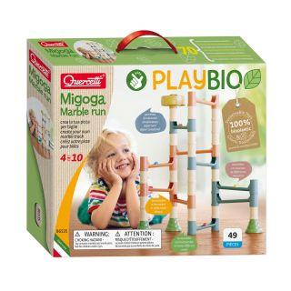 Quercetti PlayBio Migoga Knikerbaan, 49dlg