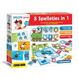 Clementoni Playing Learning - 8 Games in 1