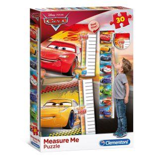 Clementoni Measuring tool Puzzle Cars, 30pcs.