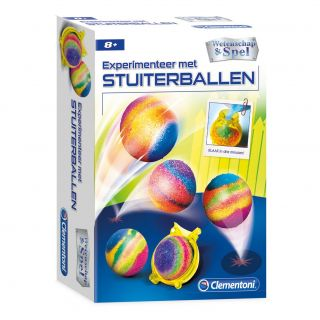 Clementoni Science & Game - Make your own Bouncing Balls