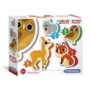 Clementoni My First Puzzles - Forest animals