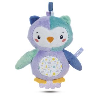 Clementoni First Months - Cuddle Owl with Light