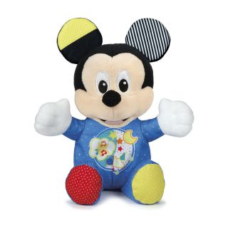 Clementoni Mickey Mouse Plush Toy with Music and Light