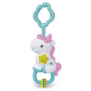 Clementoni Baby - Interactive Unicorn Rattle