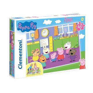 Clementoni Floor Puzzle Peppa Pig, 40pcs.