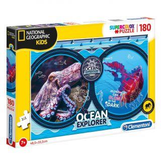Clementoni National Geographic Puzzle - Ocean, 180pcs.