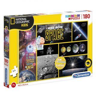 Clementoni National Geographic Puzzle - Space, 180pcs.