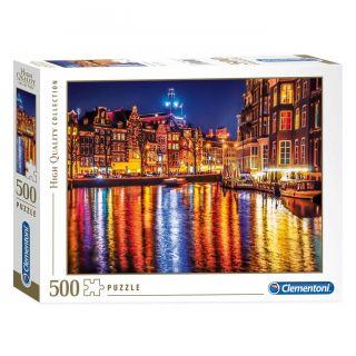 Clementoni Puzzle Amsterdam, 500 pcs.