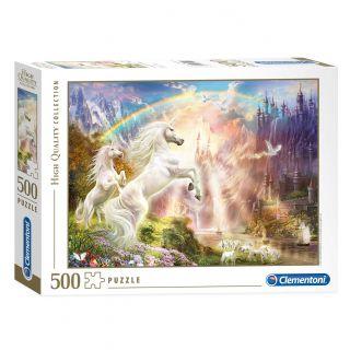 Clementoni Puzzle Unicorns at Sunrise, 500 pcs.