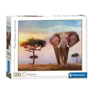 Clementoni Puzzle African Sunrise, 500 pcs.