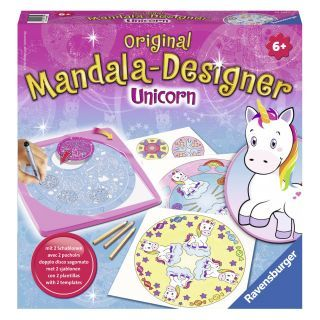 Mandala-Designer 2in1 - Unicorn