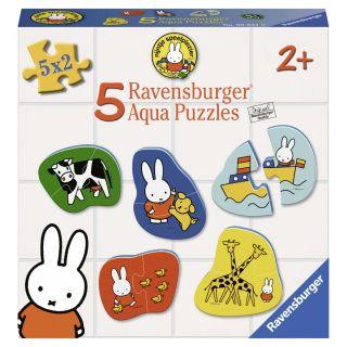 Aqua Puzzle Miffy, 5x2 pieces