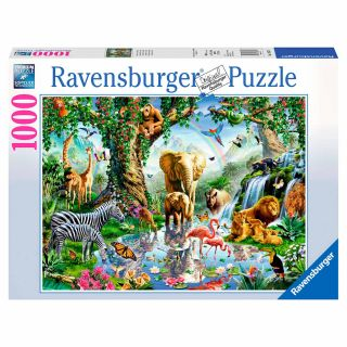Adventures in the Jungle Puzzle, 1000st.