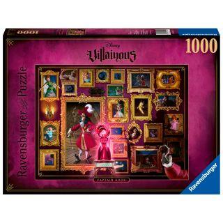 Disney Villainous Puzzle Captain Hook, 1000pcs.