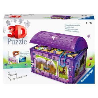 Ravensburger 3D Puzzle - Treasure Chest Horses