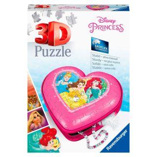 Ravensburger 3D Puzzle - Hearts Box Disney Princess