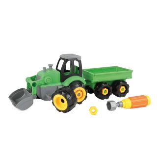 Tractor with Trailer in Storage Box