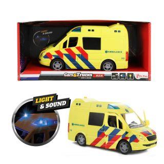 ToiToys Ambulance avec son et lumière 23415A