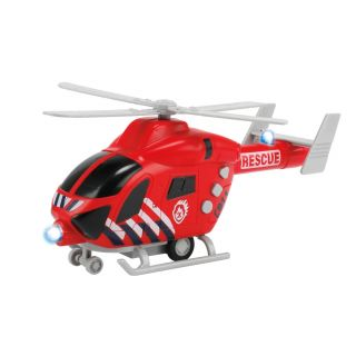 Fire Department Helicopter with Light and Sound