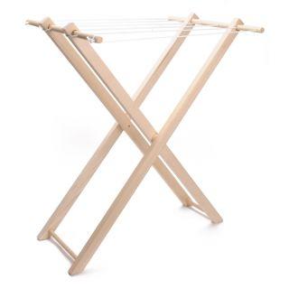 Jouet-Plus Etendoir à linge en bois