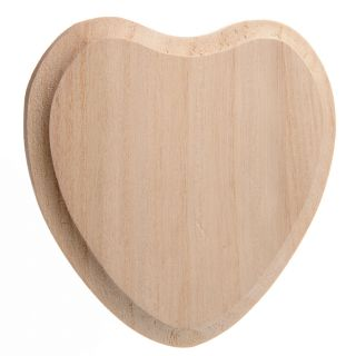 Decorate your own Wooden name plate-Heart