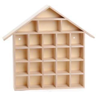 Typecase Wooden House