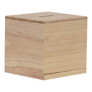Jouet-Plus Tirelire en bois à décorer