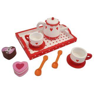 Tea service Hearts / Dot