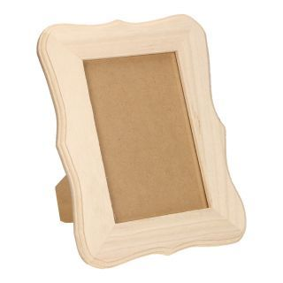 Jouet-Plus Cadre photo en bois à décorer