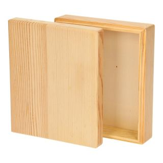 Decorate your own Wooden Storage Tray (separate lid)