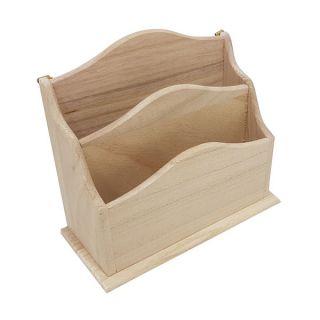 Decorate your own Wooden Brievenbak