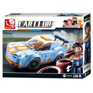 Sluban Car Club Race Car - Leopard