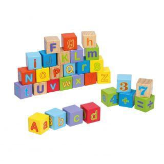 Joueco Alphabet Blocks, 30dlg.