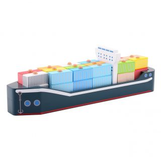 Joueco Wooden Container Ship