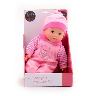 Baby Rose Doll, 30cm