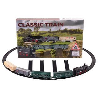 Steam Train Play Set, 19dlg.